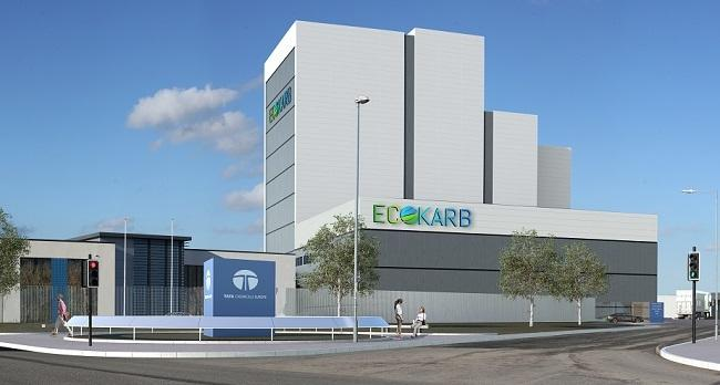 A mock-up of how the new Tata plant might look.
