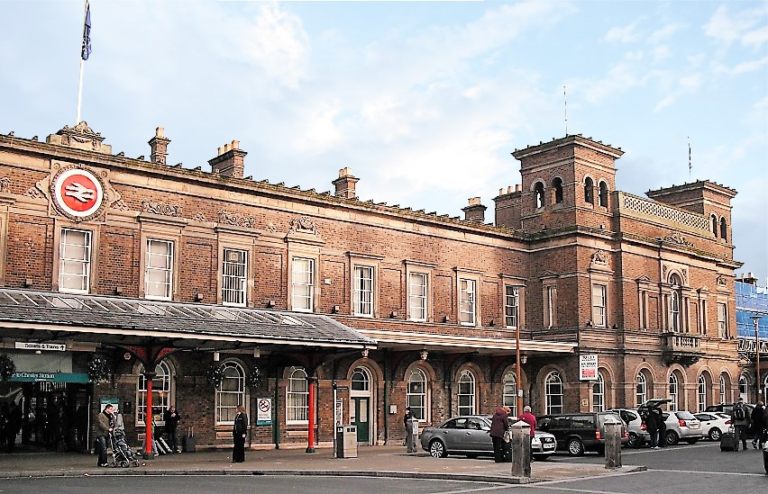 A photo of Chester train station.