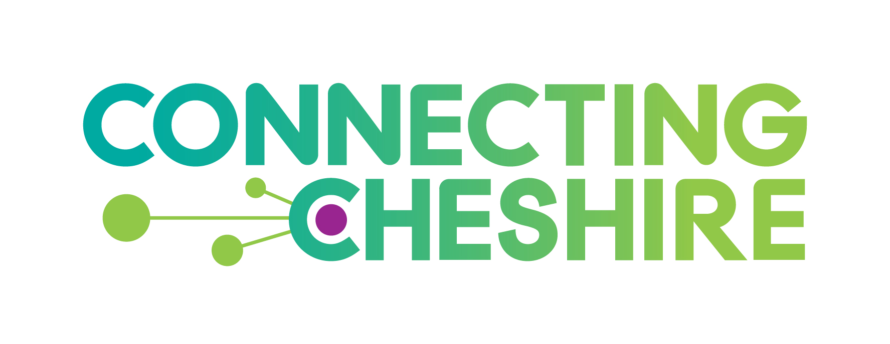 The Connecting Cheshire logo.