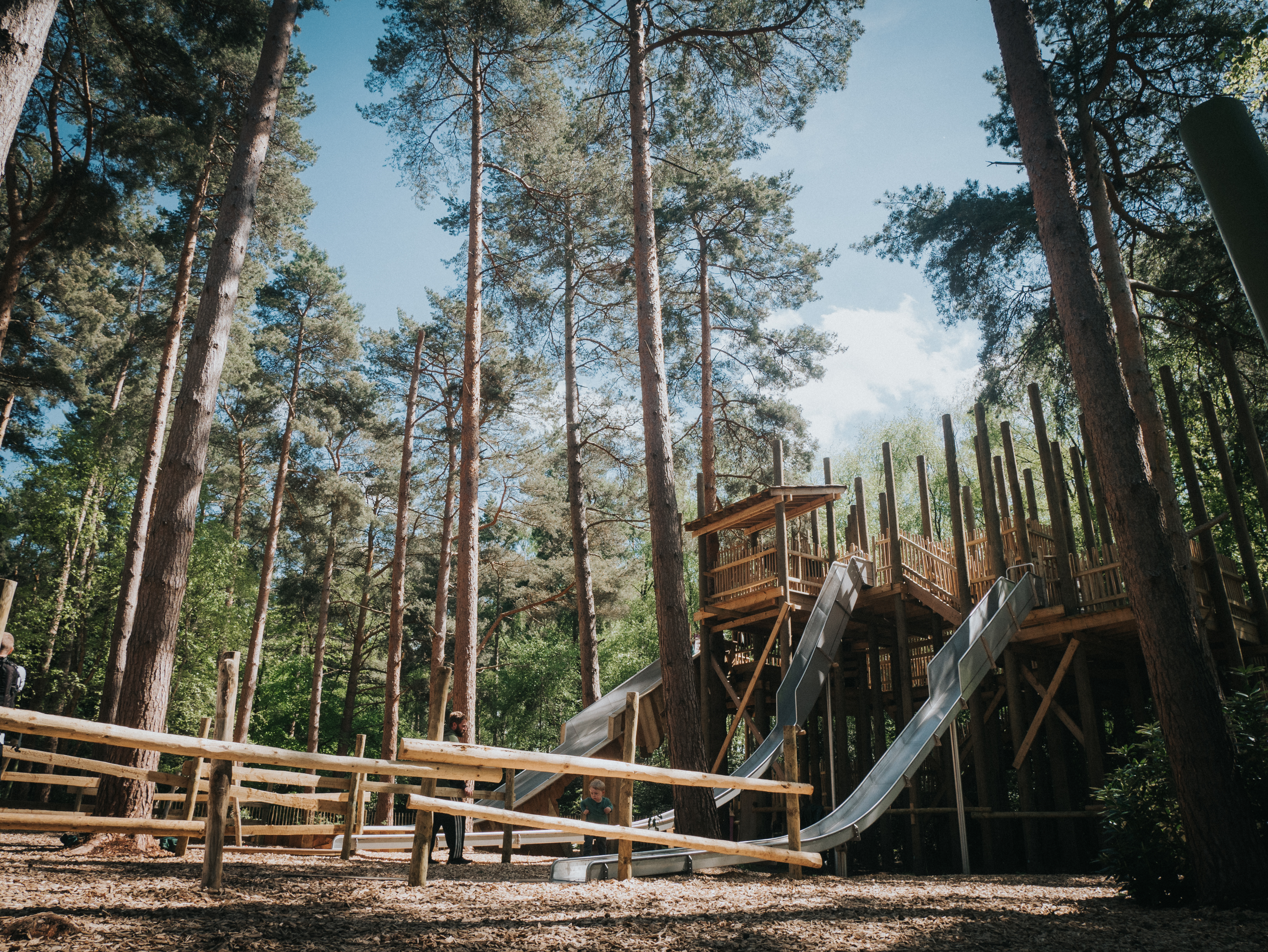 One of the attractions at the new BeWILDerwood Cheshire site