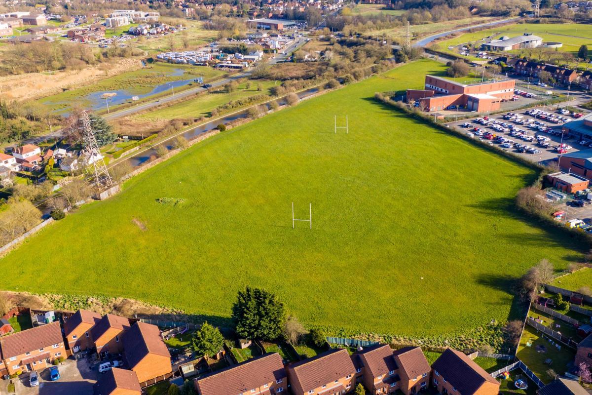 Blacon playing fields