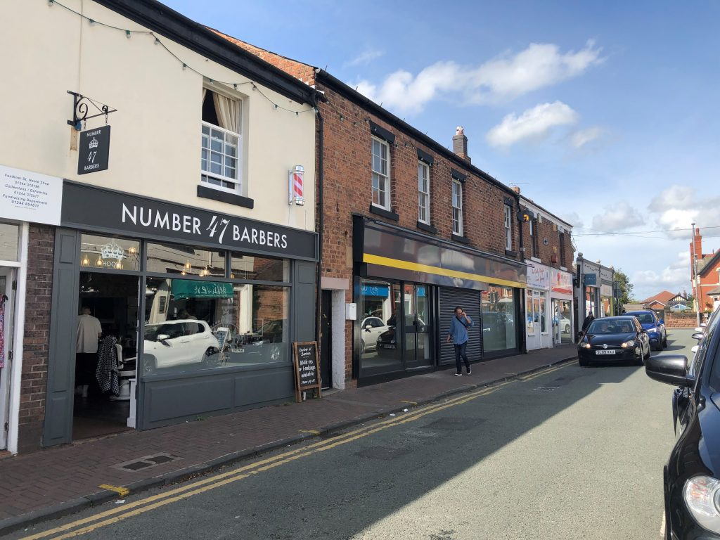 The currently vacant property on Faulkner Street, Hoole.