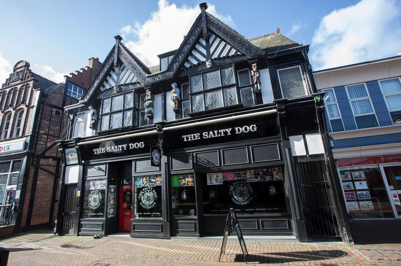 The Salty Dog, in Northwich. Credit: David Sejrup