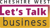 Cheshire West Let's Talk Business logo